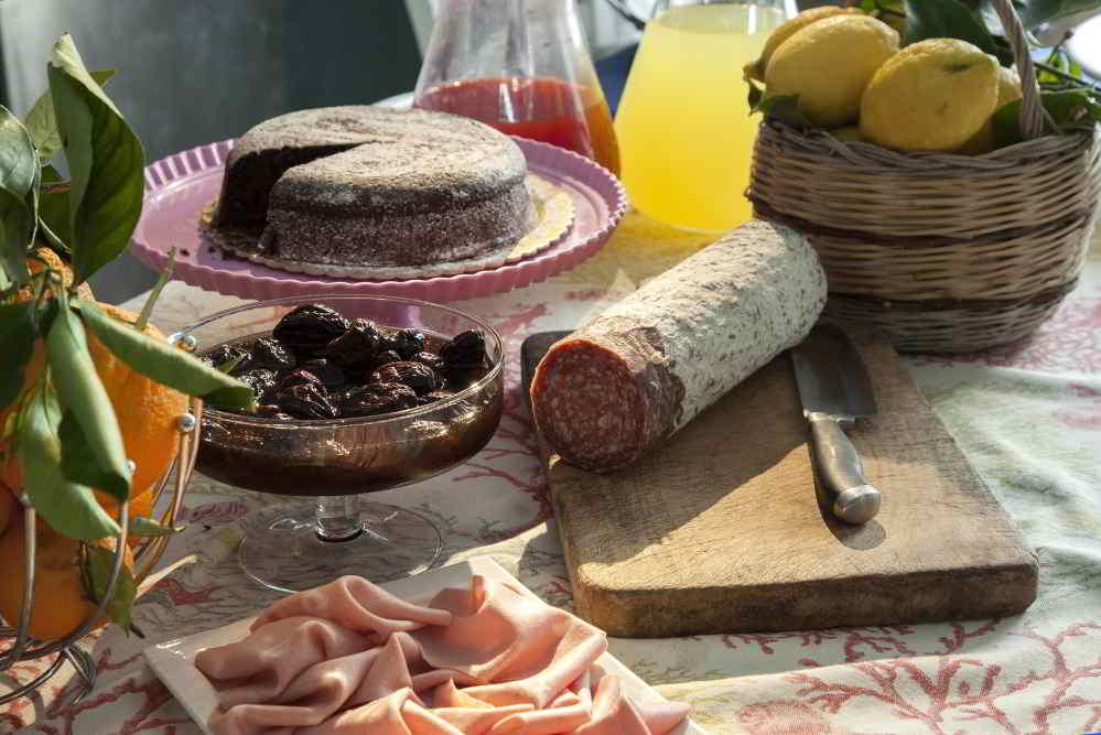 Hotel del Corso Sorrento - prodotti colazione