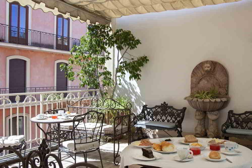 Hotel del Corso Sorrento - Terrazza colazione