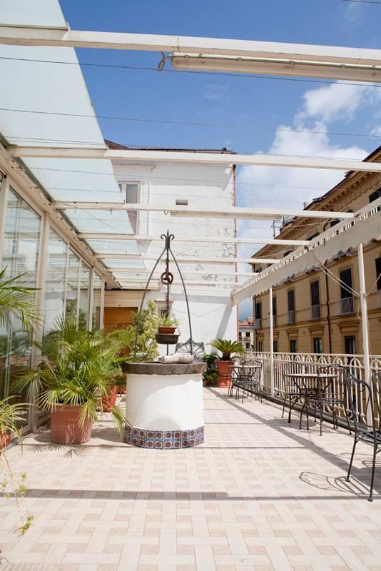 Hotel del Corso Sorrento - dettaglio terrazzo