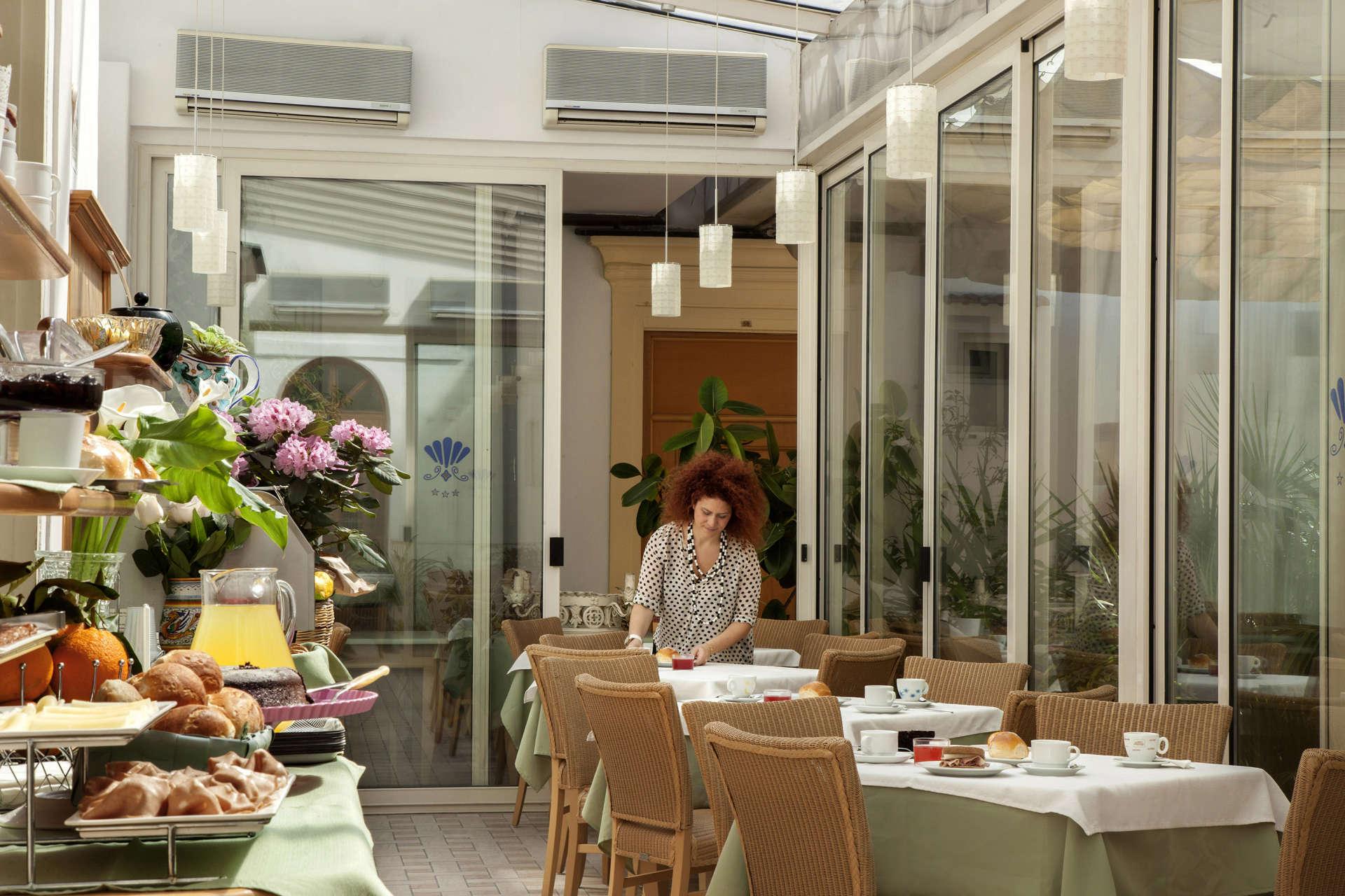 Hotel del Corso - sala colazione
