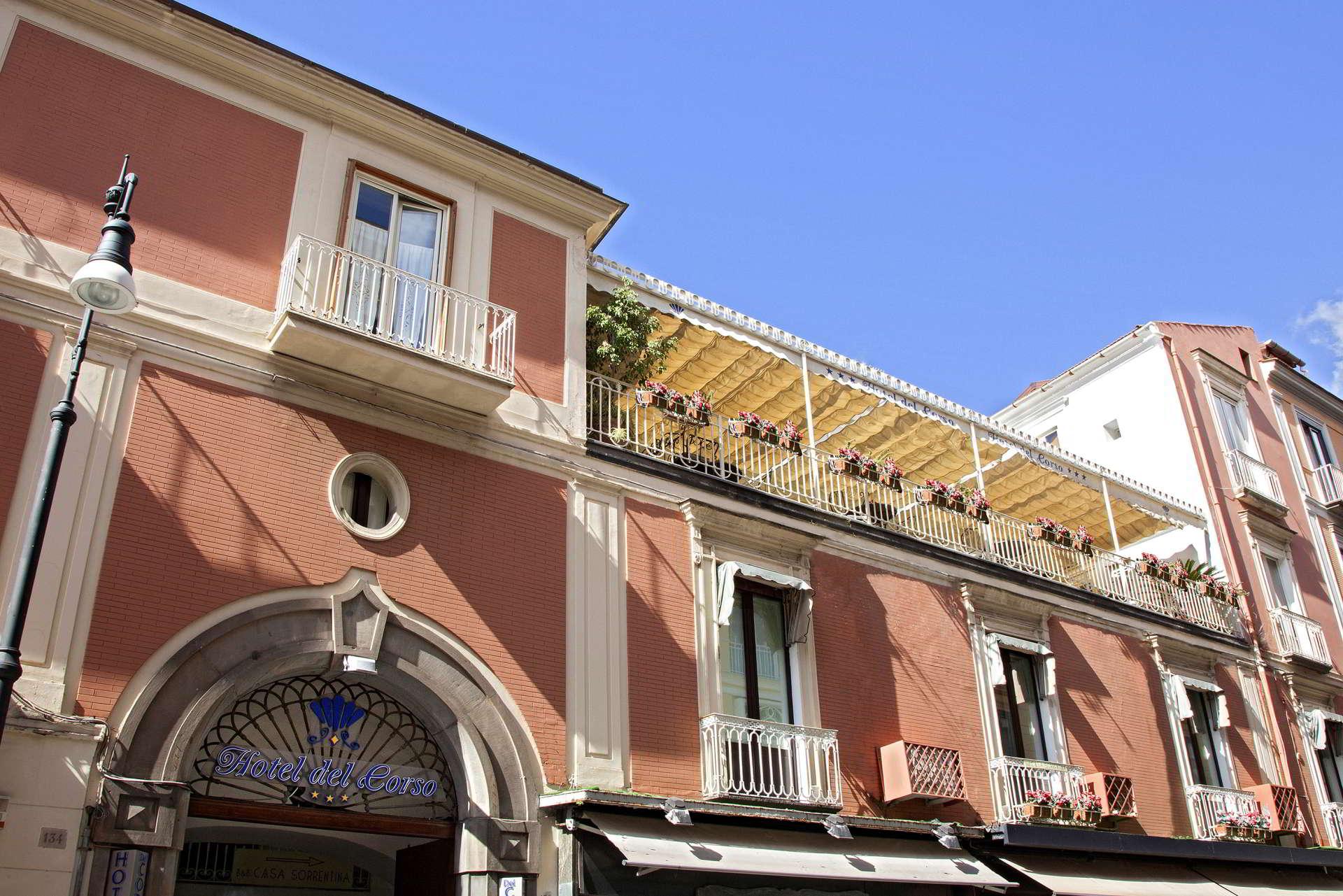Hotel Sorrento centro - terrazza colazione Hotel delCorso