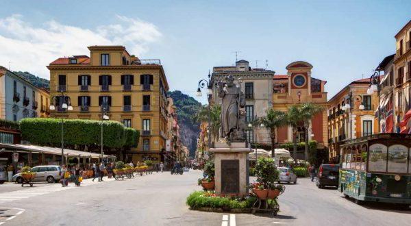 Piazza Tasso Sorrento - Hotel del Corso